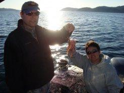 Prawning in Barkley Sound