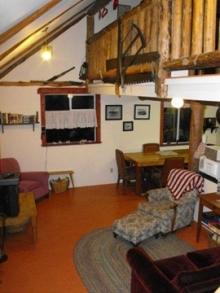 Woodsman Living room